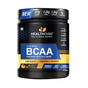 HealthFarm BCAA with Glutamine