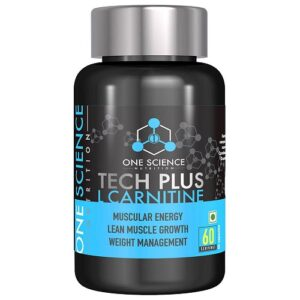 One Science Tech Plus L-Carnitine 60 Capsules