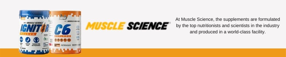 muscle science brand banner