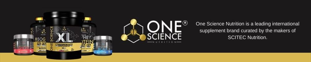 one science nutrition brand banner