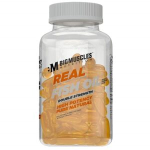 Bigmuscles Nutrition Real Fish Oil Double Strength