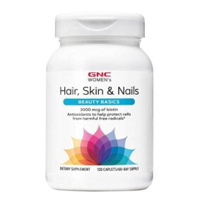 GNC Women's Hair Skin and Nails Formula - 120 Tablets